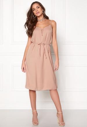 ICHI Cruniz Dress Mahogany Rose 34