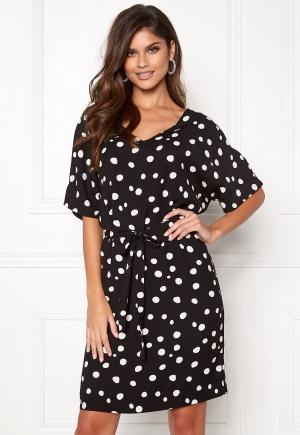 ICHI Floro Dress Black M