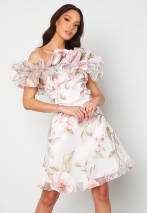 Ida Sjöstedt Arielle Dress White/Pink 36