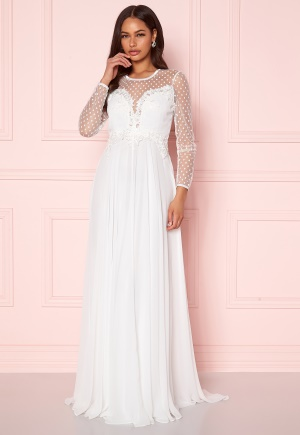 Ida Sjöstedt Alicia Dress Ivory 38