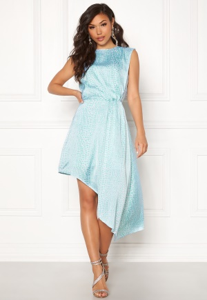 Ivyrevel Asymmetric Dress Light Blue Croco 34