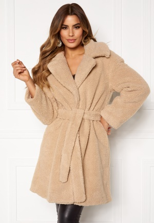 Ivyrevel Belted Teddy Coat Beige 38