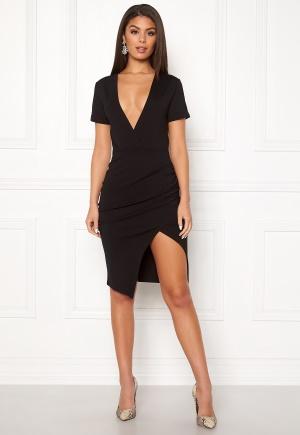Ivyrevel Deep V-neck Slit Dress Black L
