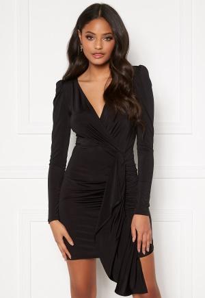 Ivyrevel Drape Front Dress Black M