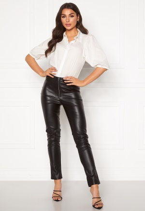 Ivyrevel Faux Leather Trousers Black 34