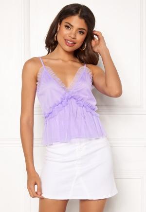 Ivyrevel Frill Shoulder Strap Top Lavender 34