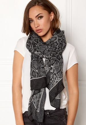 Pieces Jaba Long Scarf Black One size thumbnail