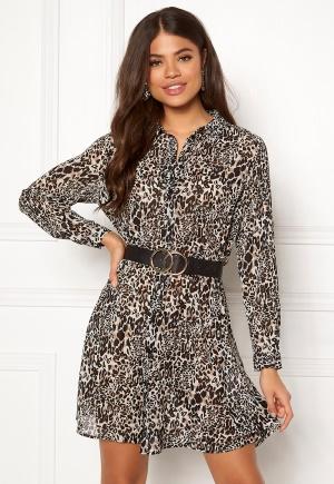Jacqueline de Yong Abigail L/S Shirt Dress Black 34