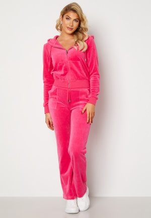 Juicy Couture Cotton Rich Del Ray Pant Raspberry Rose L