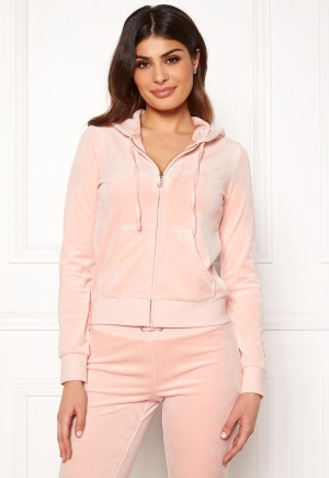 Juicy Couture Luxe Velour Robertson Jkt Pink Shadow L