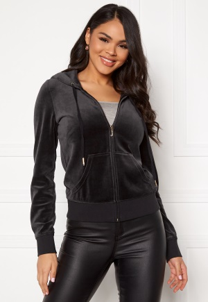 Juicy Couture Traditional Logo Jacket Pitch Black XL