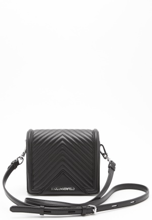 Karl Lagerfeld Classic Small Cross Body Black One size
