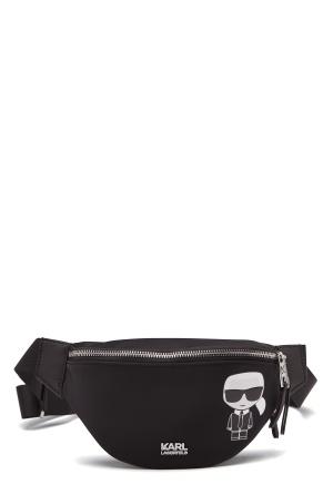 Karl Lagerfeld Iconic Nylon Bumbag 999 Black One size