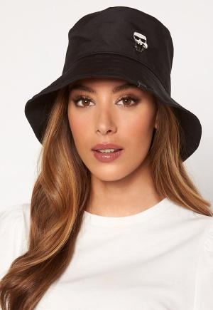 Karl Lagerfeld Ikonik Bucket Hat A999 Black One size