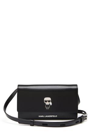 Karl Lagerfeld Ikonik Pin Woc Bag 999 Black One size