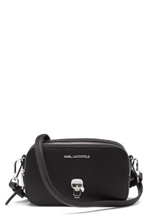 Karl Lagerfeld Metal Pin Camera Bag 999 Black One size