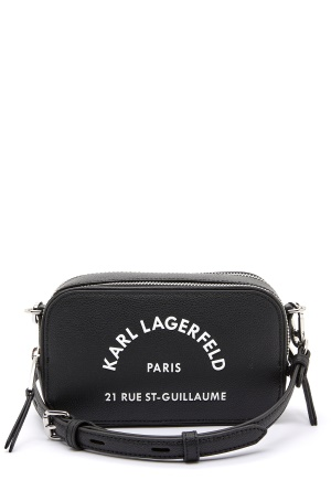 Karl Lagerfeld Rue St Guillaume Bag A999 Black One size