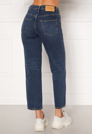 SELECTED FEMME Kate HW Stright Inky Jeans Medium Blue Denim 26/32