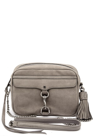 Rebecca Minkoff Large Mac Camera Bag Grey One size