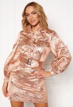 LARS WALLIN Workwear Dress Pink Metallic 34