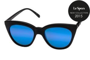 Le Specs Le Specs Halfmoon Magic Black Rubber Purple Revo Miror Lens One Size thumbnail