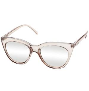 Le Specs Le Specs Halfmoon Magic Stone Full Silver Mirror Lens One Size thumbnail