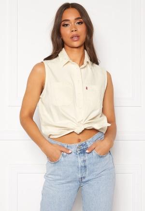 LEVI'S Alina Tie Shirt 0000 Icy Ecru M