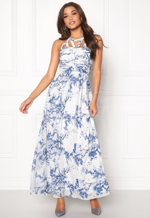 b.young Lain Dress 80469 Blue Indigo 34