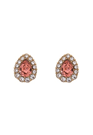LILY AND ROSE Amelie Earrings Blush Rose One size