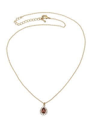 LILY AND ROSE Amelie Necklace Blush One size