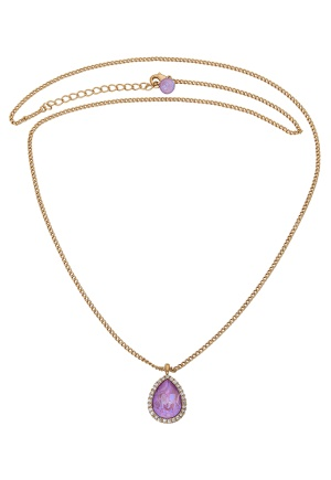 LILY AND ROSE Amy Necklace Lilac Rainbow One size