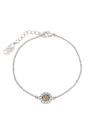 LILY AND ROSE Celeste Bracelet Diamond Grey One size