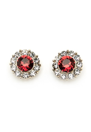 LILY AND ROSE Miss Sofia Earrings Scarlett Red One size