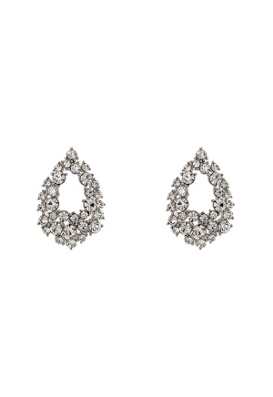 LILY AND ROSE Petite Alice Earrings Crystal One size