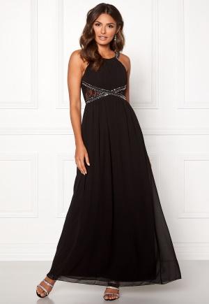 Little Mistress Eve Empire Dress Black XL (UK16)