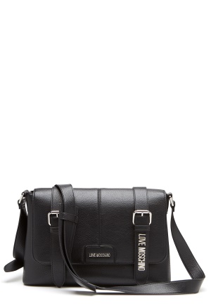 Love Moschino Belts On Bag 000 Black One size