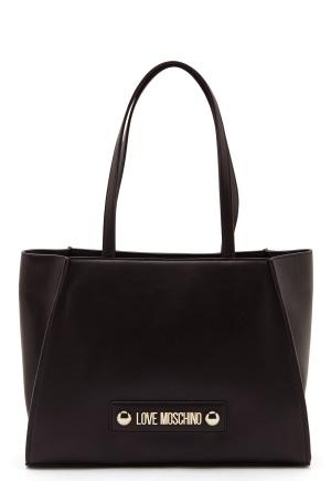 Love Moschino Big Scarf Handbag Black One size