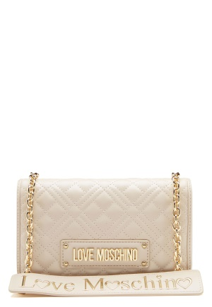 Love Moschino Evening Bag Ivory One size