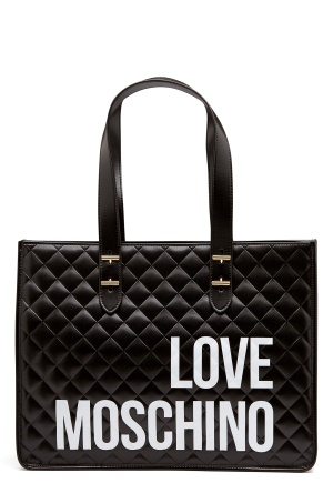 Love Moschino I Love Shopping Bag 000 Black One size