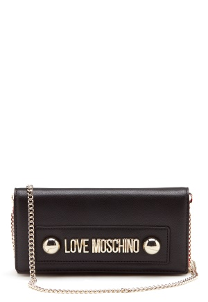 Love Moschino Logo Chain Bag Black One size