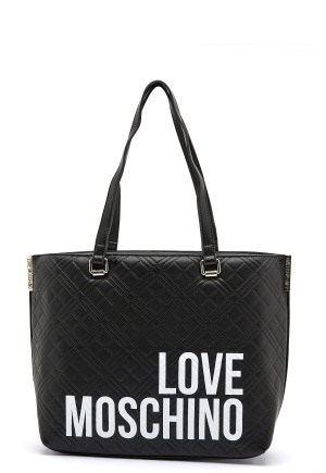 Love Moschino Shopping Lovers 00A Black One size
