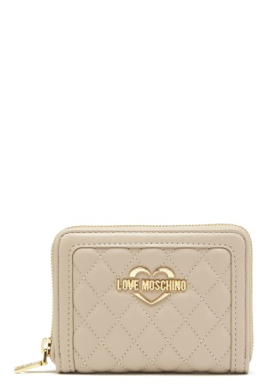 Love Moschino Wallet 108 Taupe/Sand One size