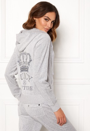 Juicy Couture Luxe Juicy Crown Jacket Silver Lining XL