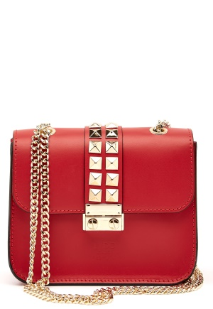 LYDC London Crossbody Bag Red One size