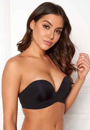 Wonderbra Perfect Strapless Bra Black 85D