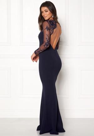 Make Way Melody Dress Dark blue L