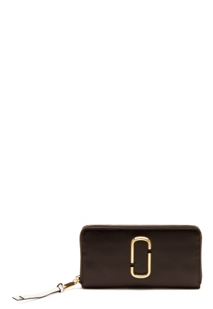 The Marc Jacobs Continental Wallet Black Multi One size