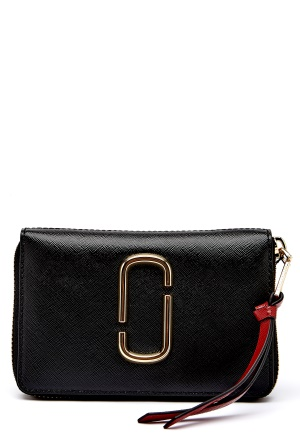 Marc Jacobs Small Standard Wallet 014 Black One size