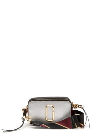 The Marc Jacobs Snapshot Marc Jacobs Silver/Multi 098 One size