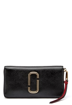 Marc Jacobs Standard Continental Wallet 014 Black One size